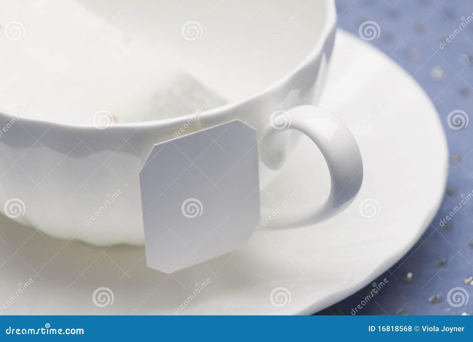 White China Tea Cup