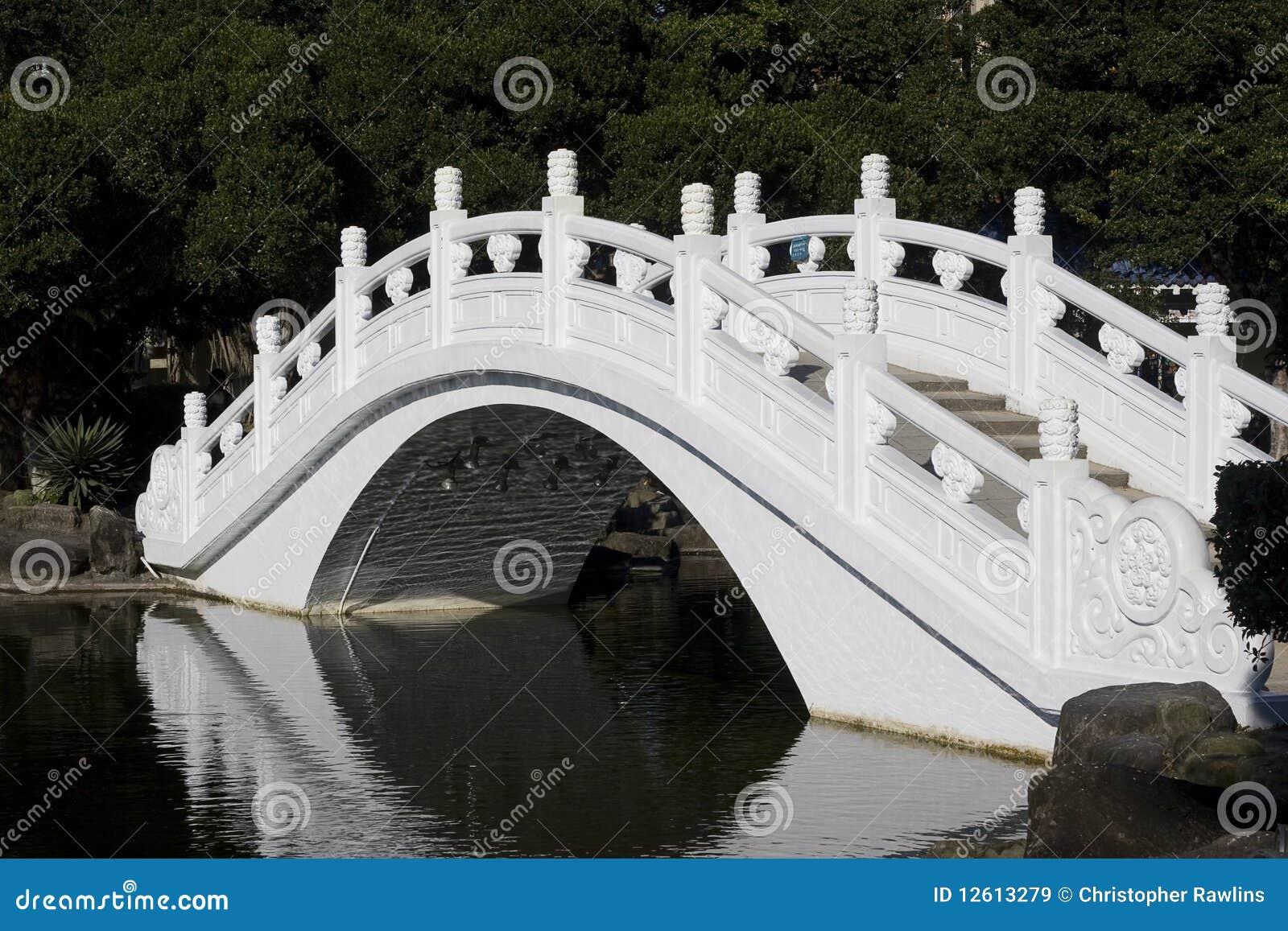 White Chinese Bridge