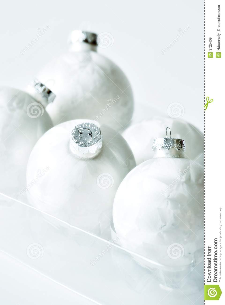 White christmas baubles royalty free stock images image for White christmas baubles