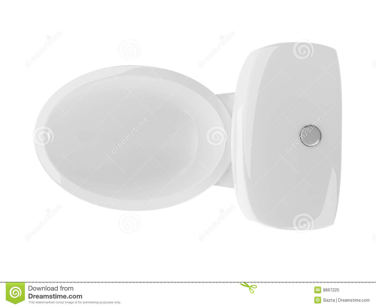 Royalty Free Stock Photo  Download Toilet Top View. Toilet Top View Clean Royalty Free Stock Photo   Image  8897225