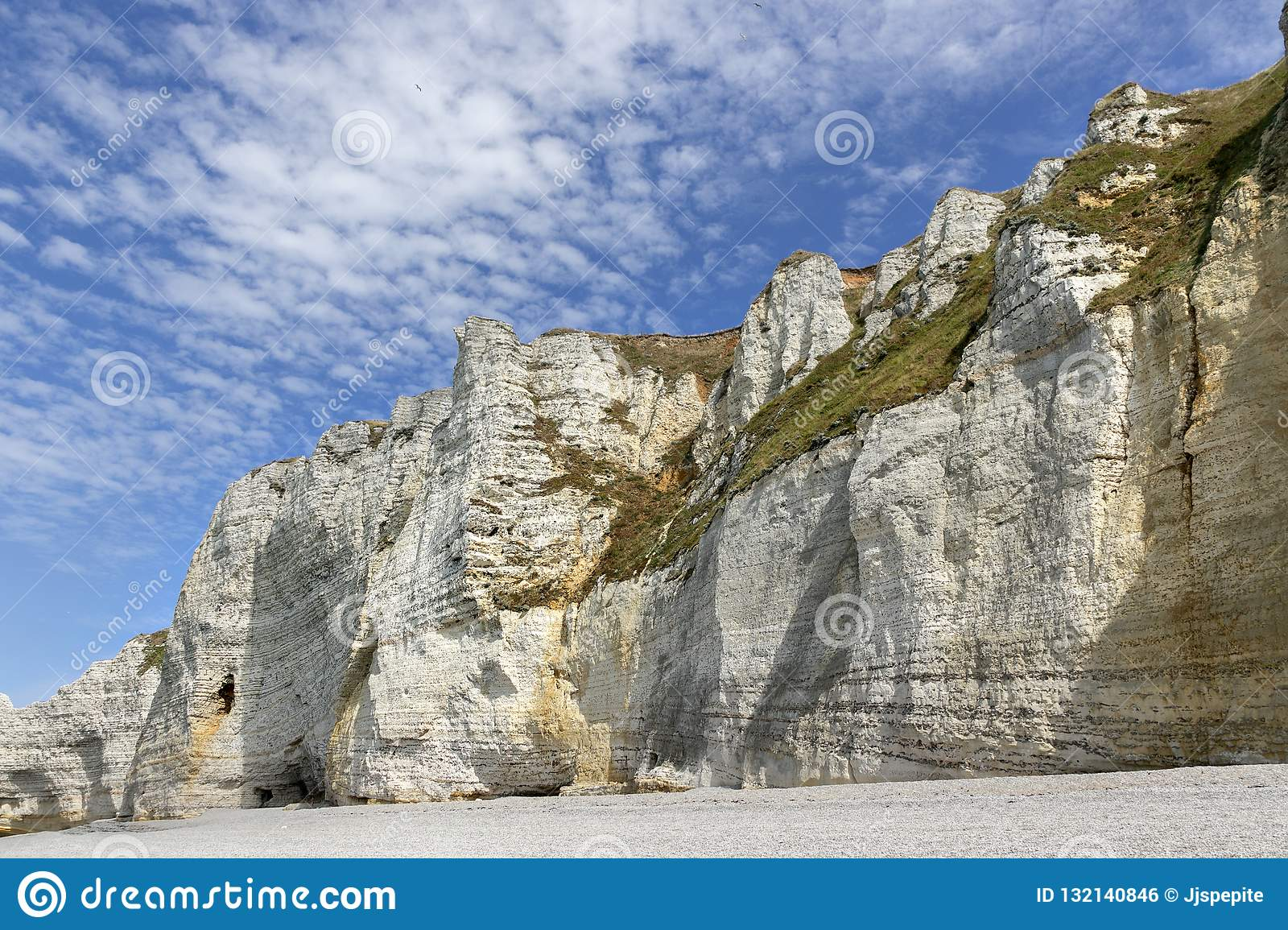 White Cliffs Of Etretat Normandy France Editorial Photo Image