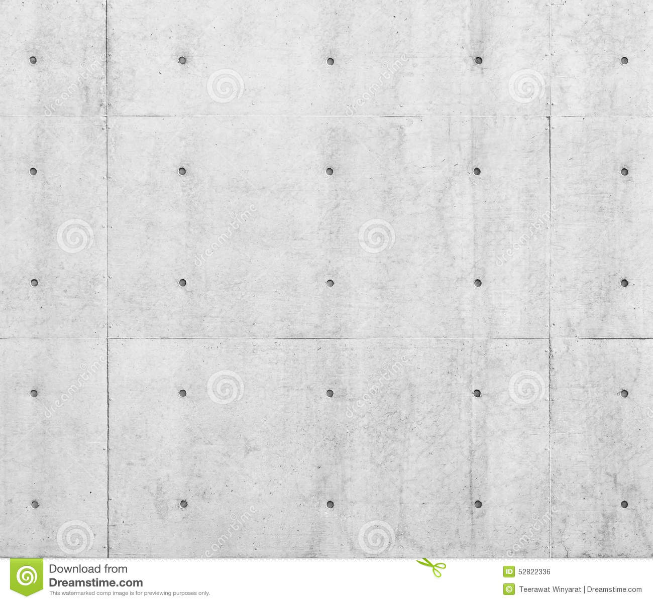 White Concrete Wall : White concrete wall with dot pattern stock photo image