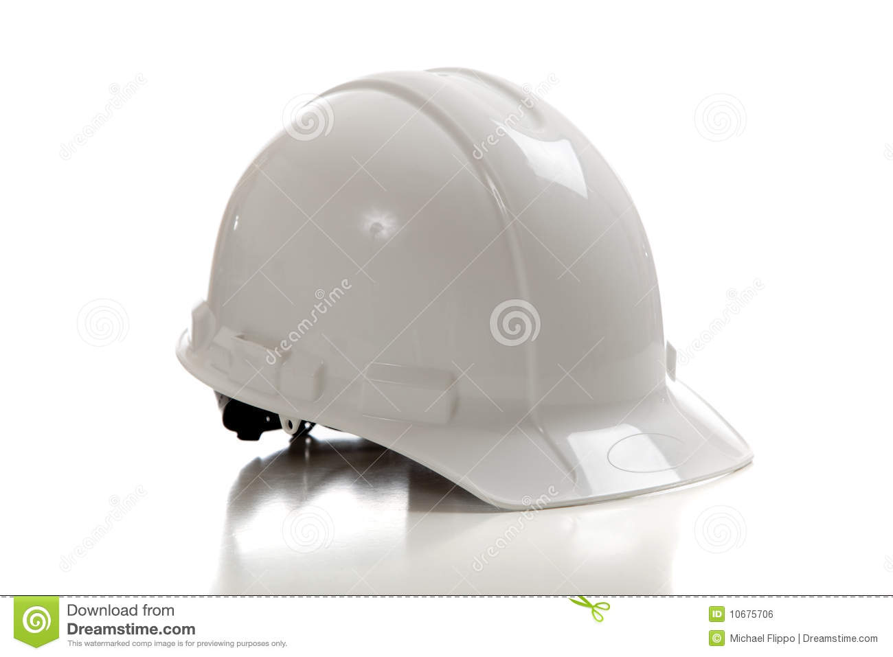 eb2dd734046 White Construction Workers Hard Hat On White Stock Photo - Image of ...