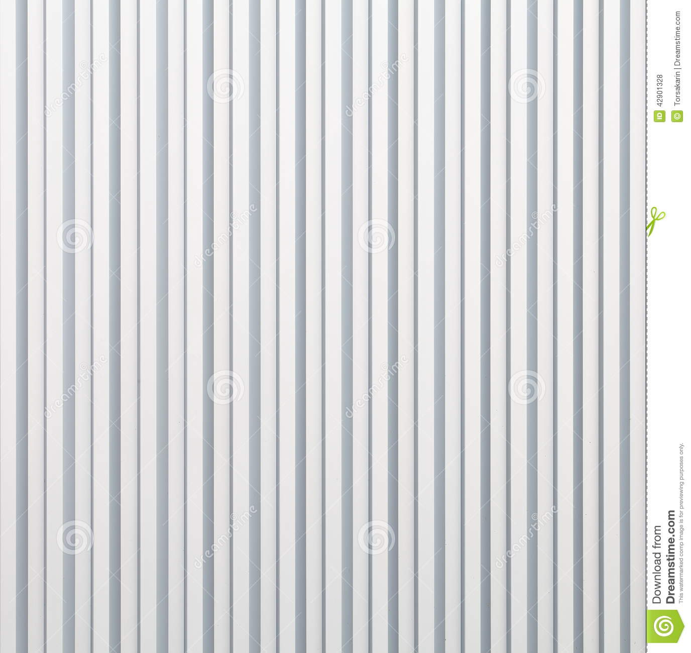 White Corrugated Metal Texture Stock Photo Image Of
