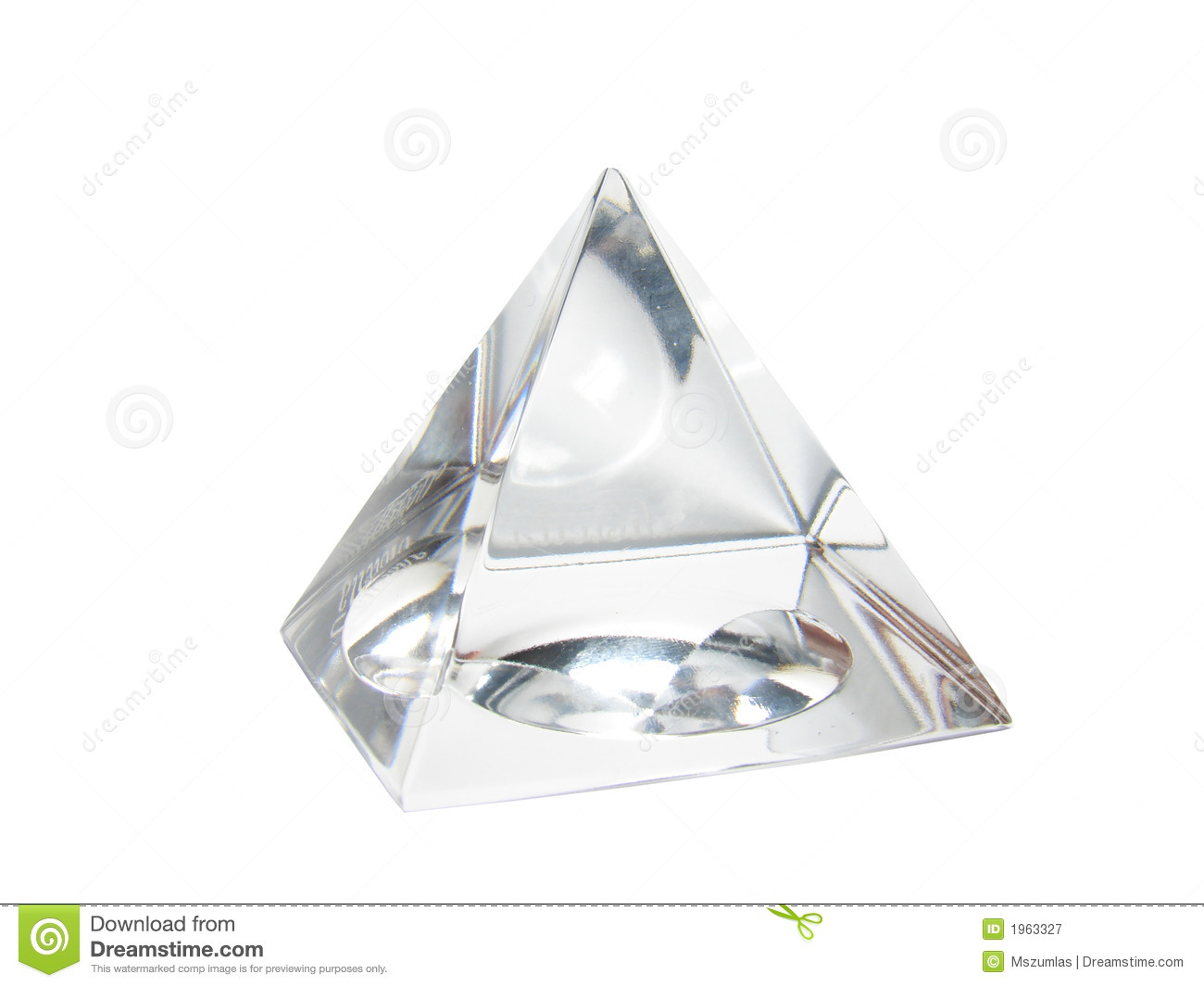 White Cristal Royalty Free Stock Photography - Image: 1963327