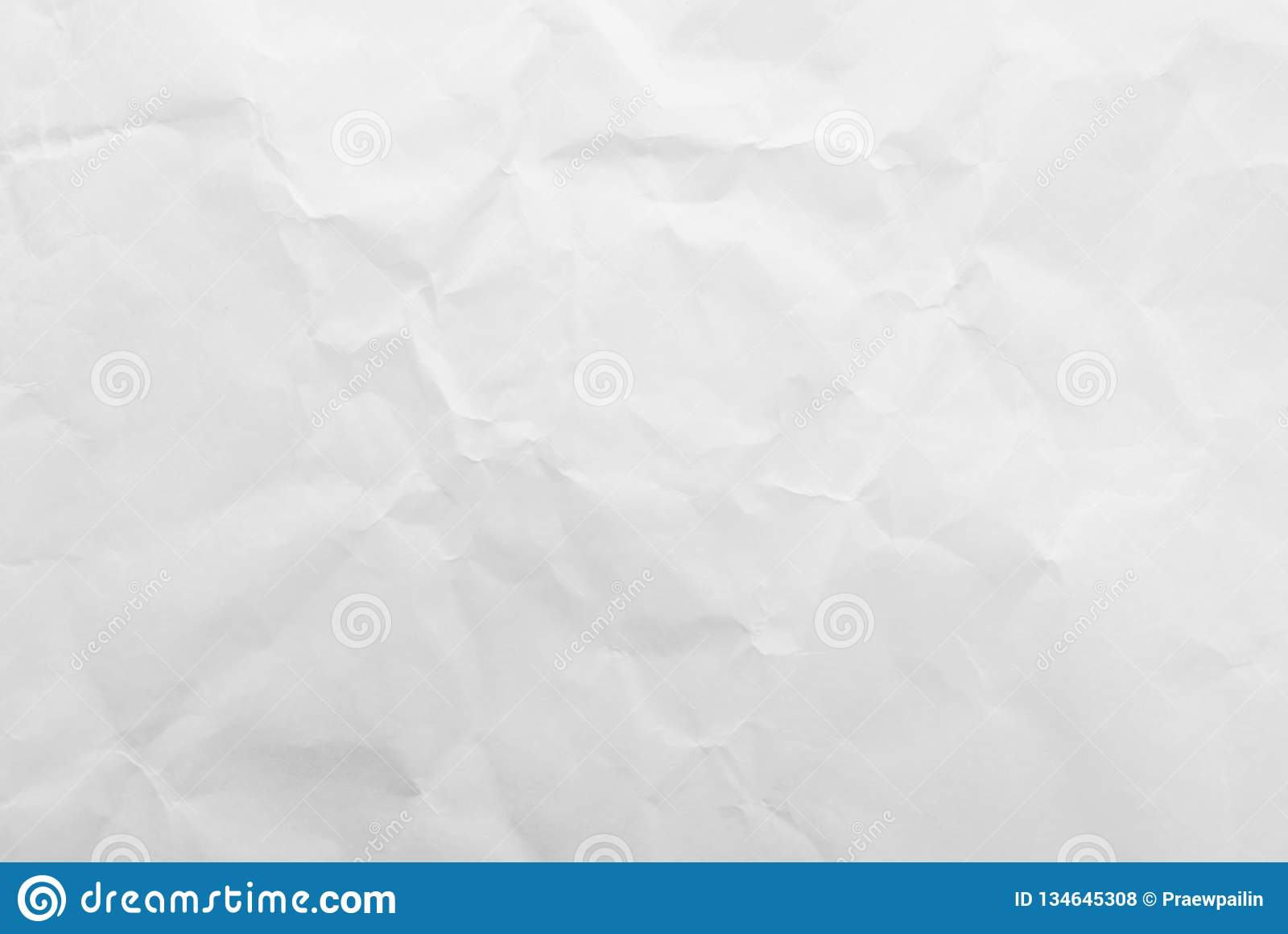 White crumpled paper texture background. Close-up
