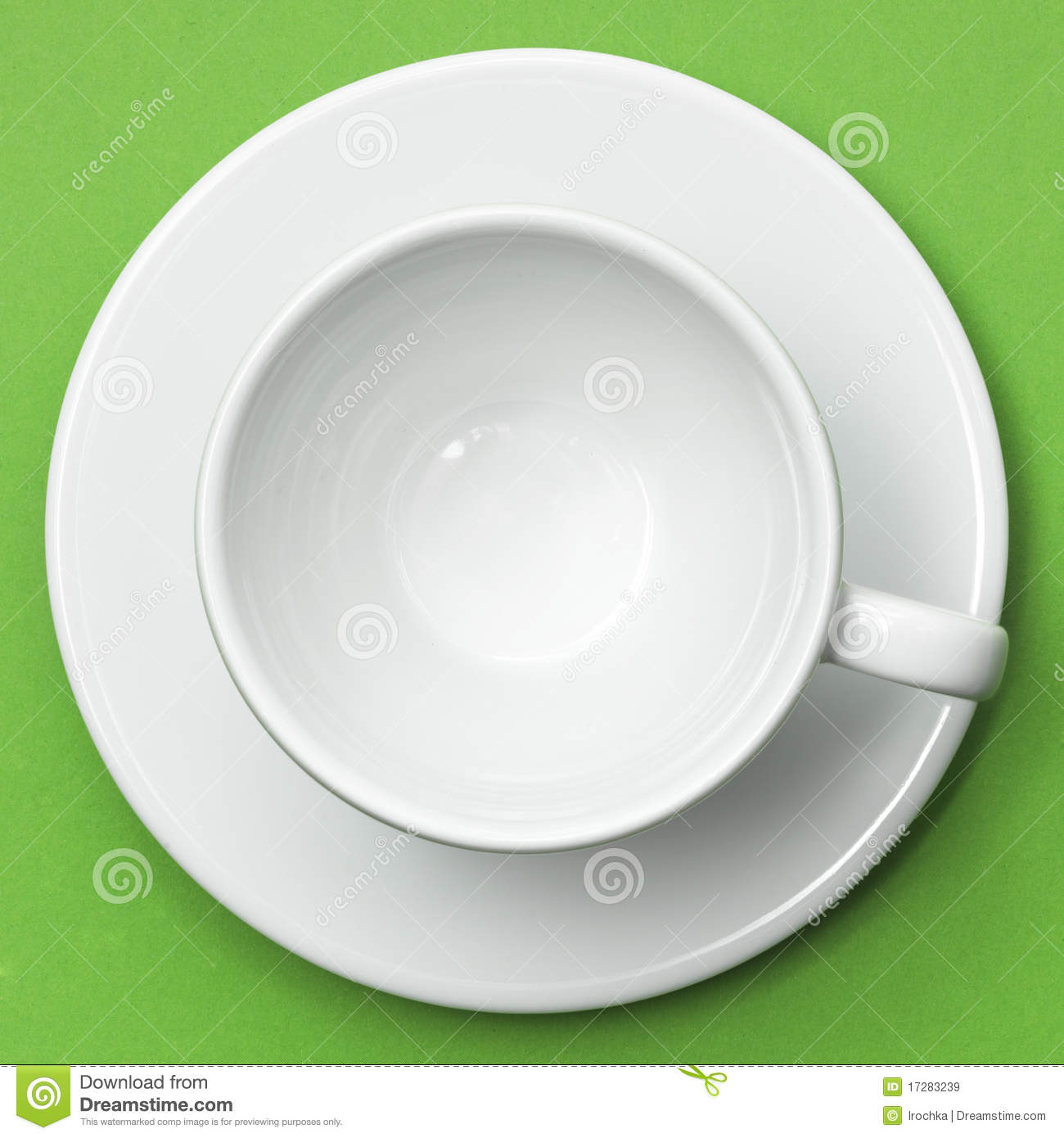 White Cup And Saucer Stock Image Image Of Tableware 17283239