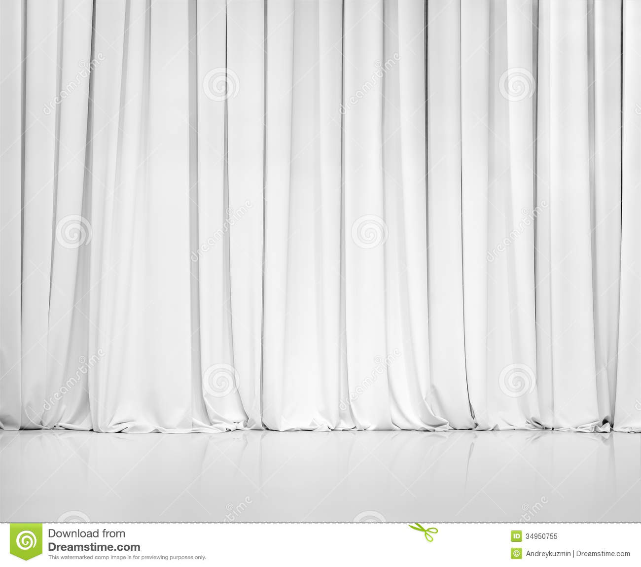 white curtain or drapes background or backdrop