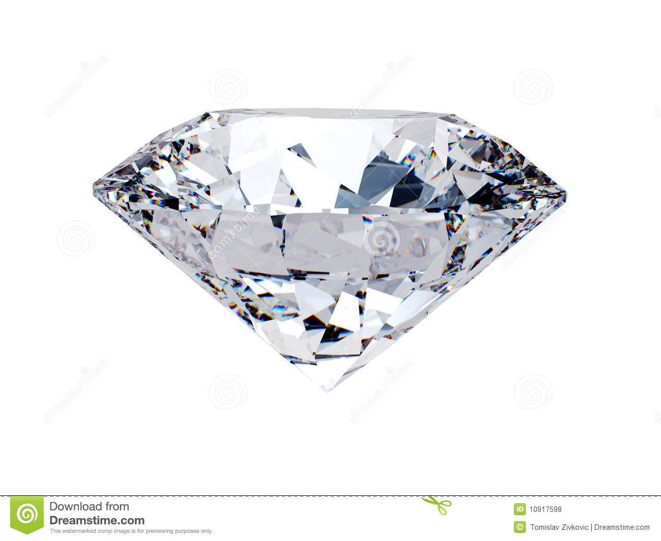 White diamond side view stock illustration image of white for Soggiorno a forma di diamante
