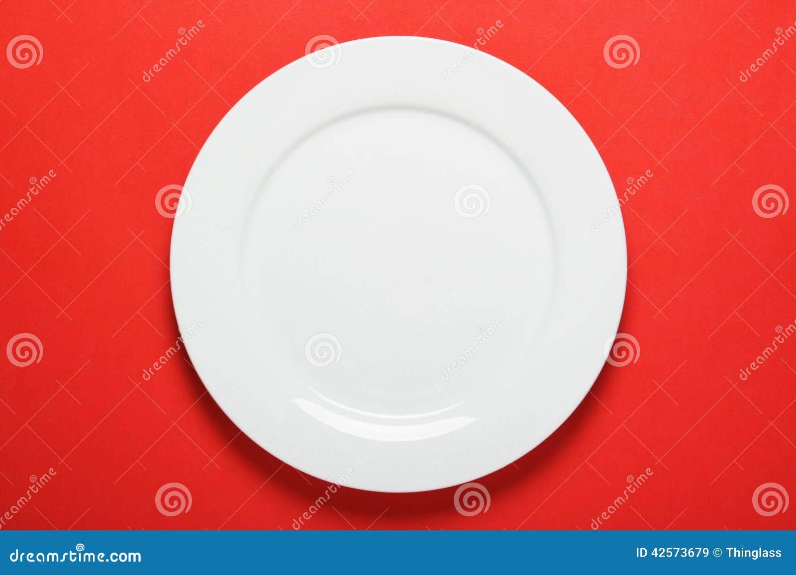 White Dinner Plate  sc 1 st  Dreamstime.com & White Dinner Plate stock image. Image of empty plain - 42573679