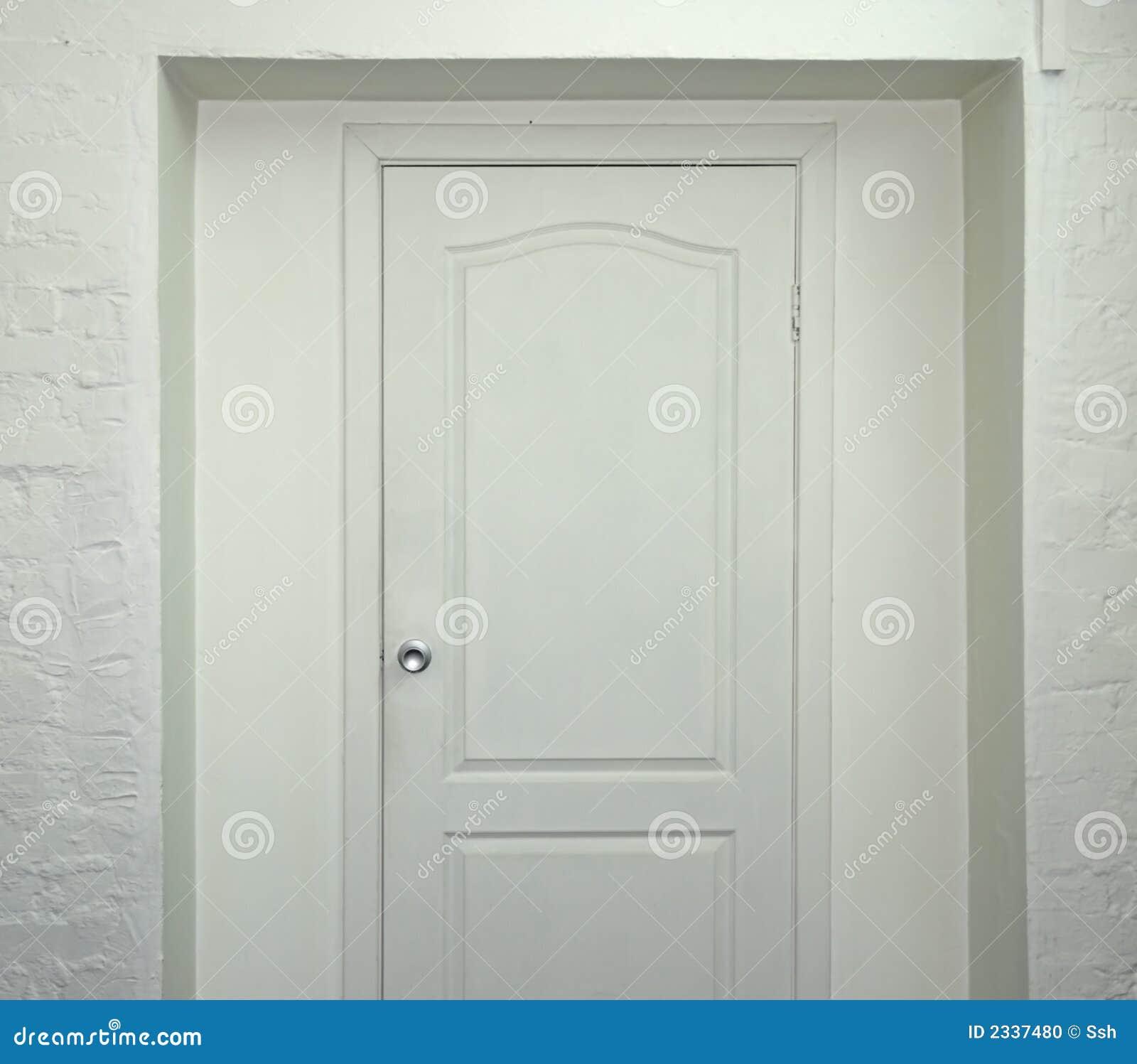 white door. White Door D