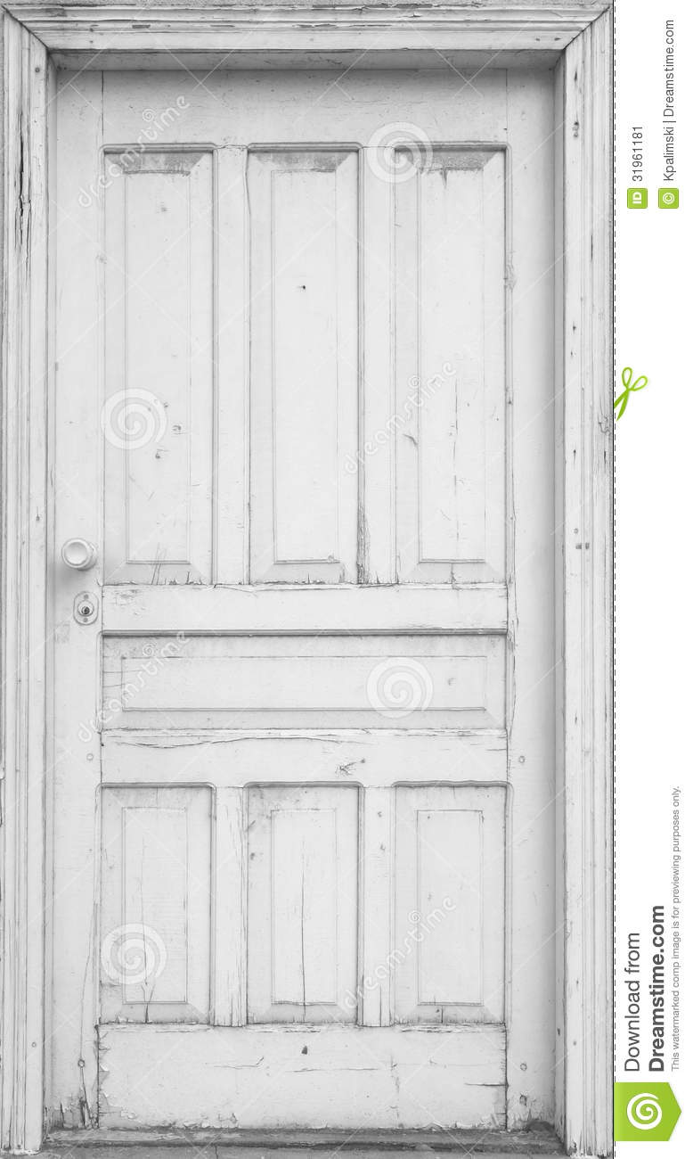 Front door clipart - White Door Stock Image Image 31961181