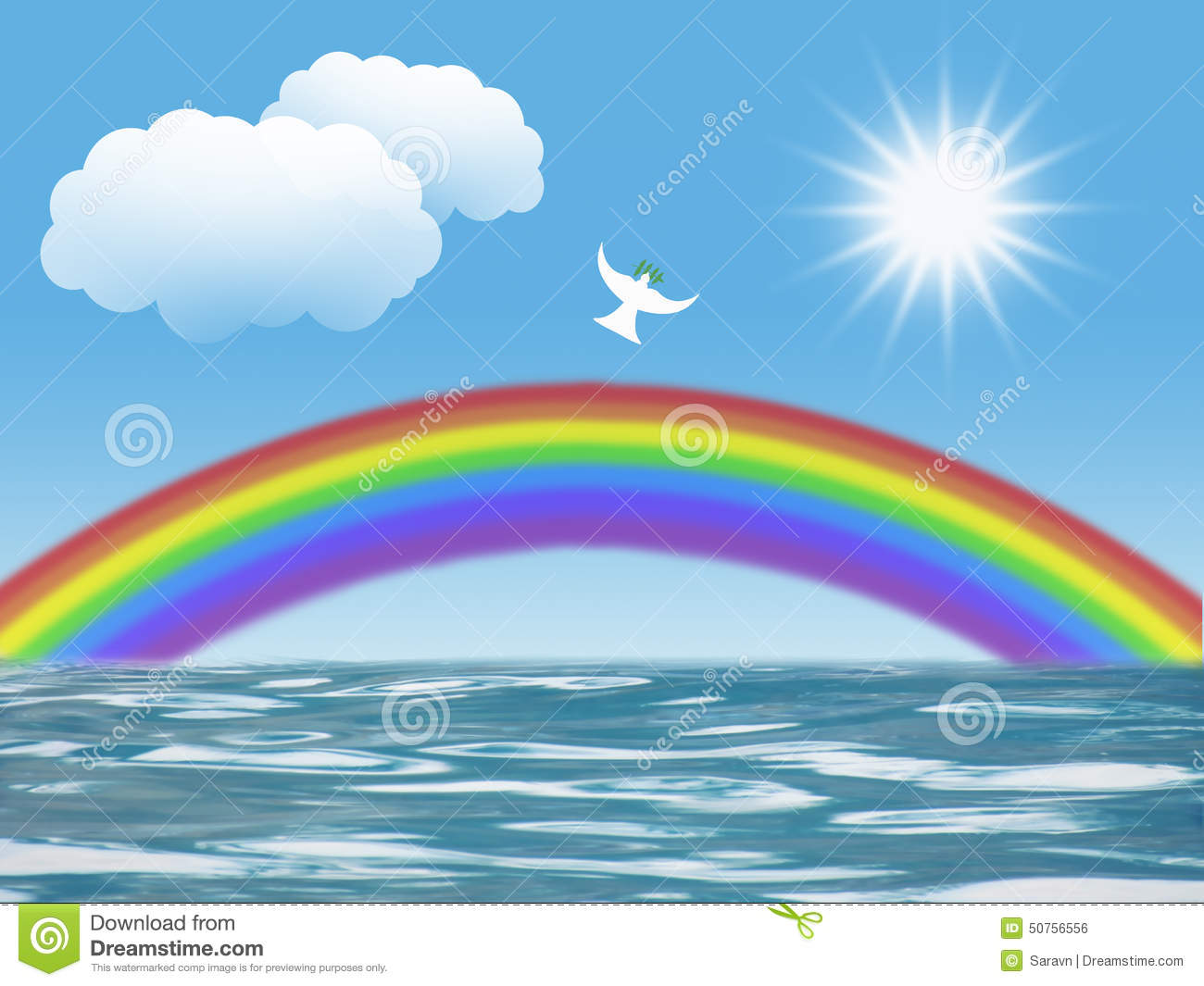 Christian love symbol stock photos 7176 images white dove flying to sun with olive leaf rainbow clouds christian symbol of peace and holy buycottarizona Choice Image
