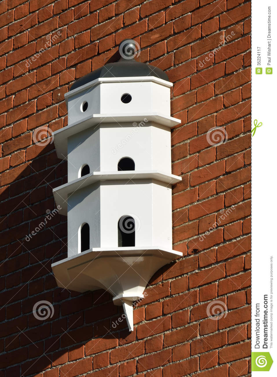 White Dovecote Royalty Free Stock Photography Image