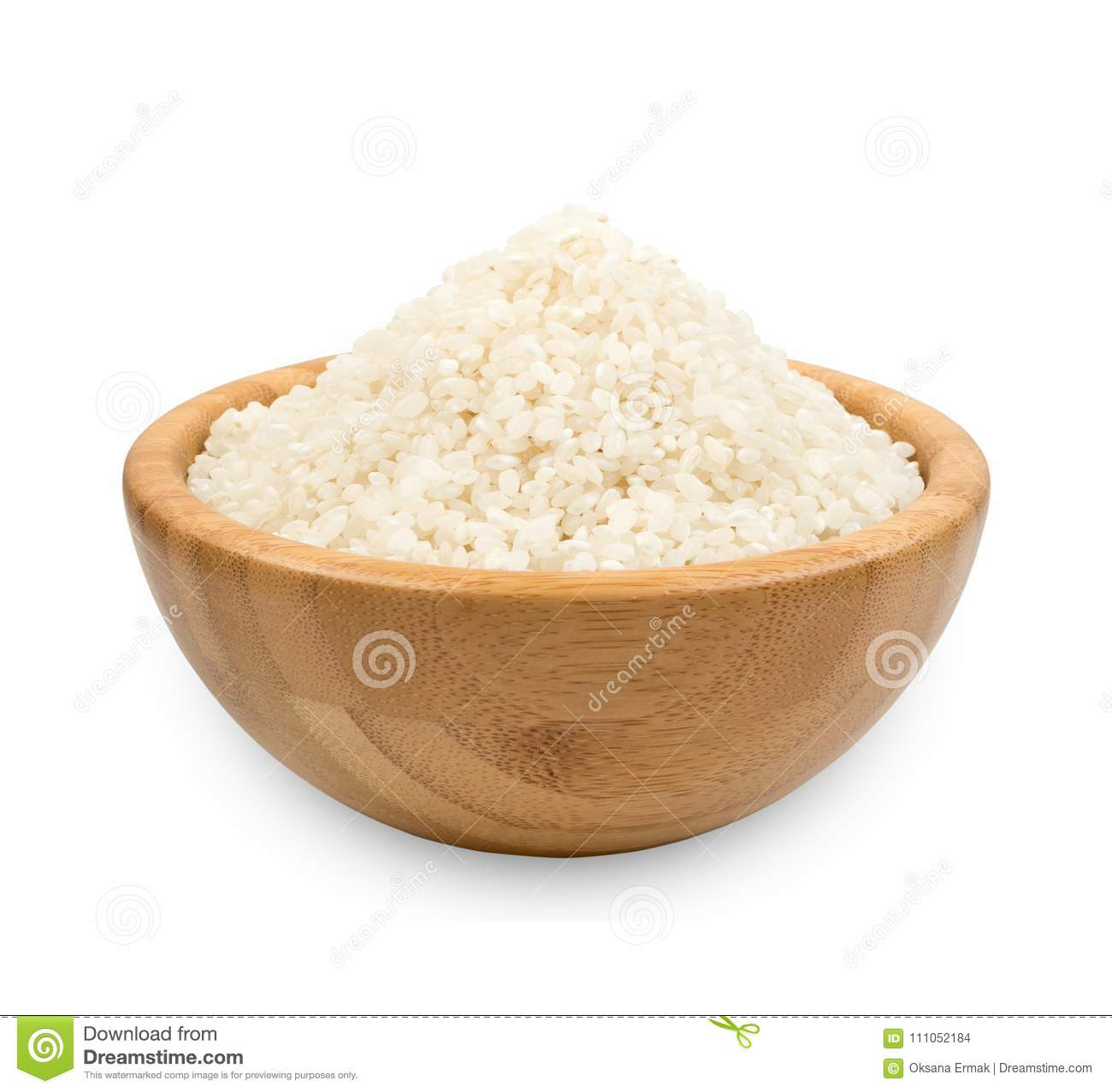 White Dry Uncooked Rice Stock Photo Image Of Nutritional 111052184