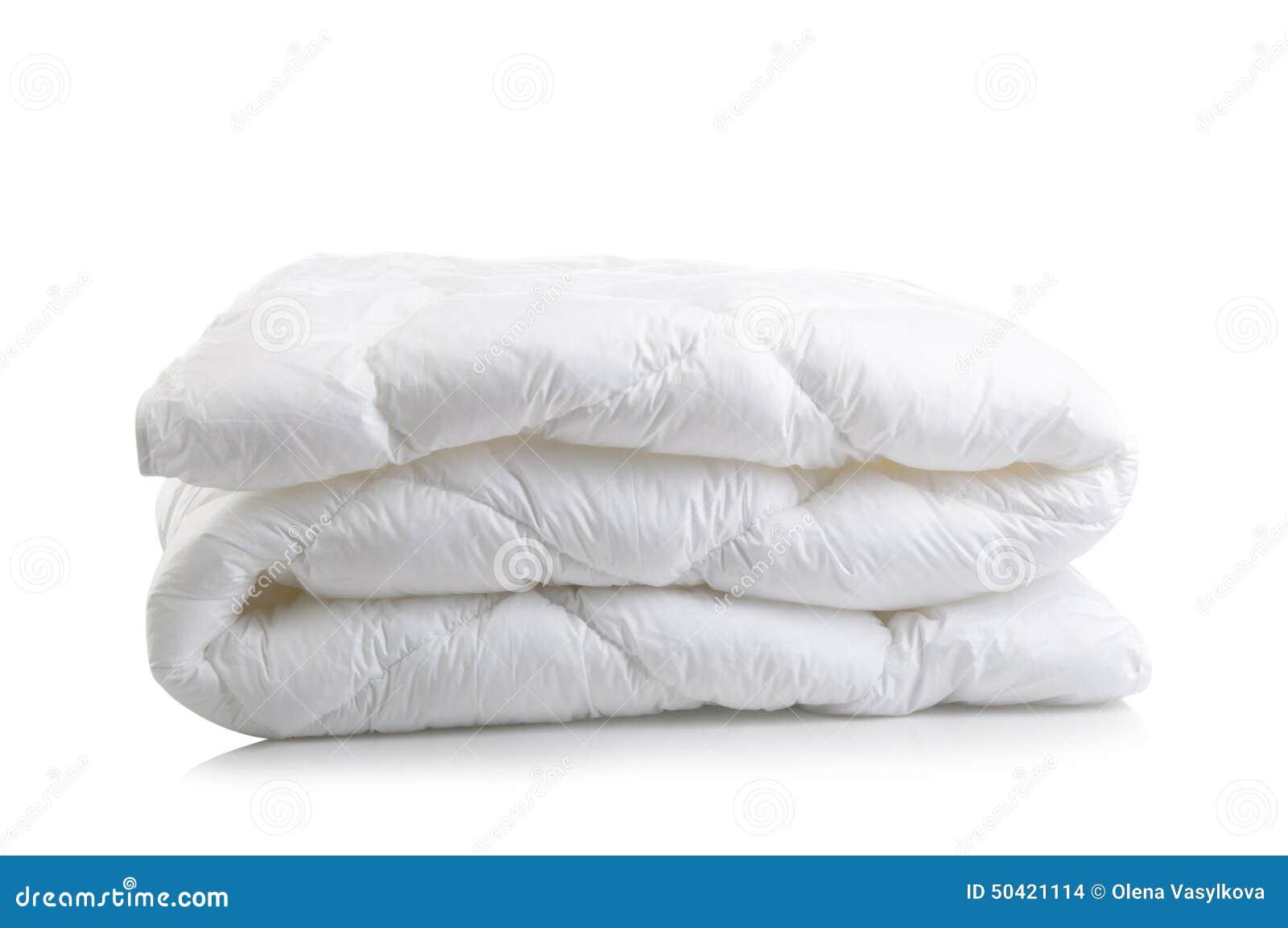 White duvet blanket