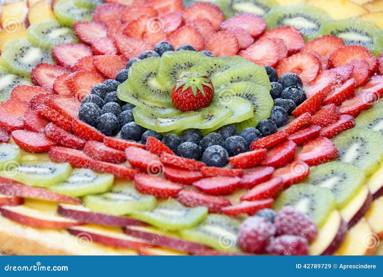 White för cakefruktisolering