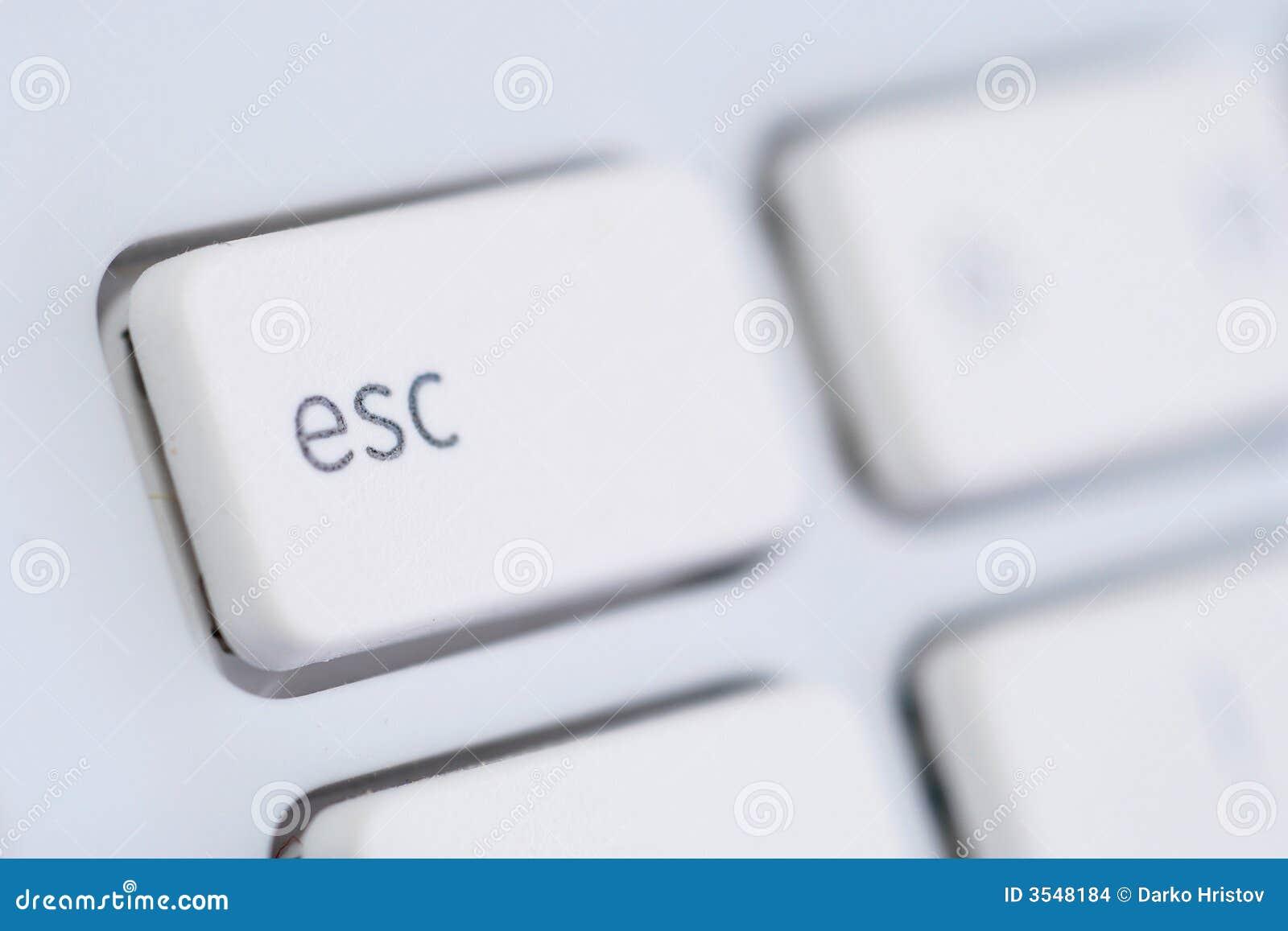 White för datoresc-tangentbord