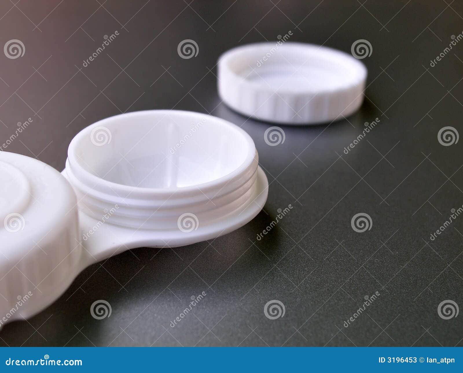 White för fallkontaktlins