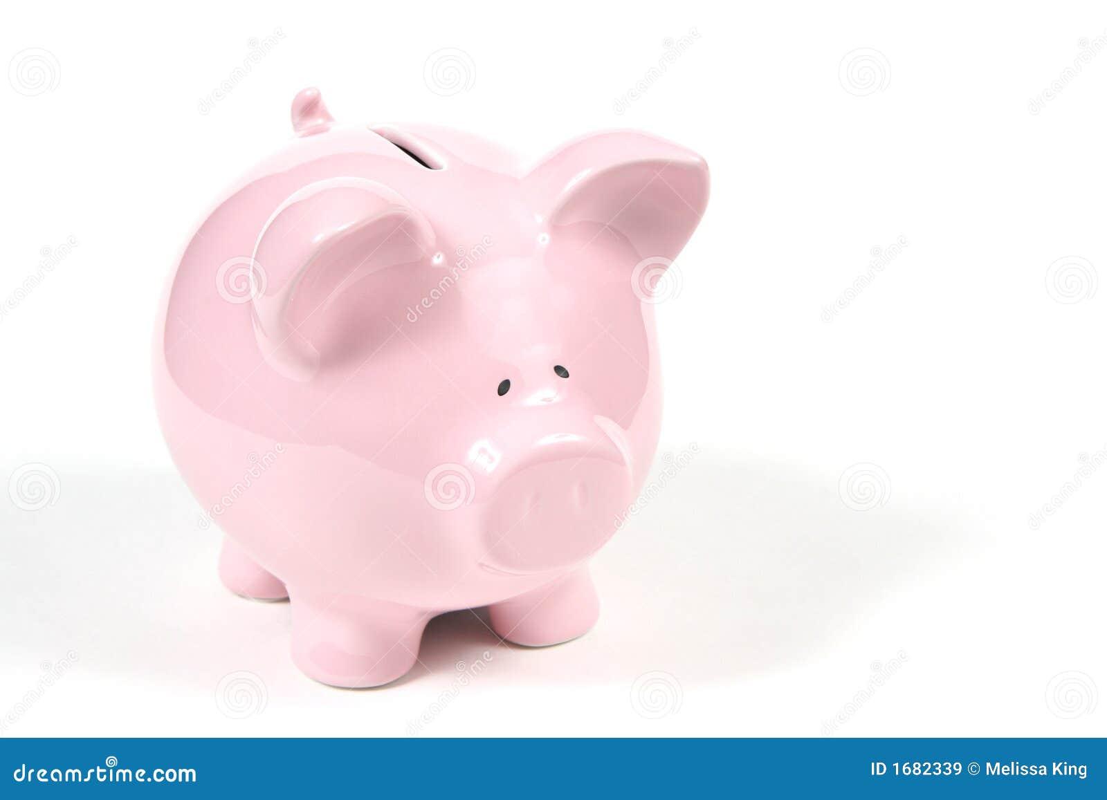 White för grupp för 2 bakgrund piggy rosa