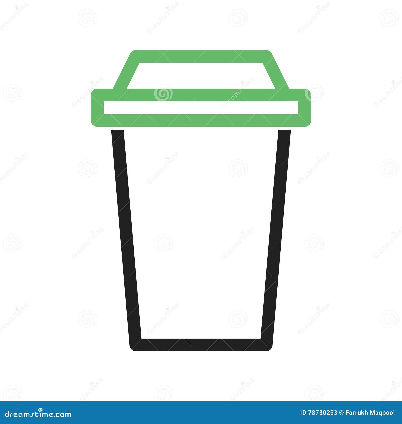 White för kaffekopp