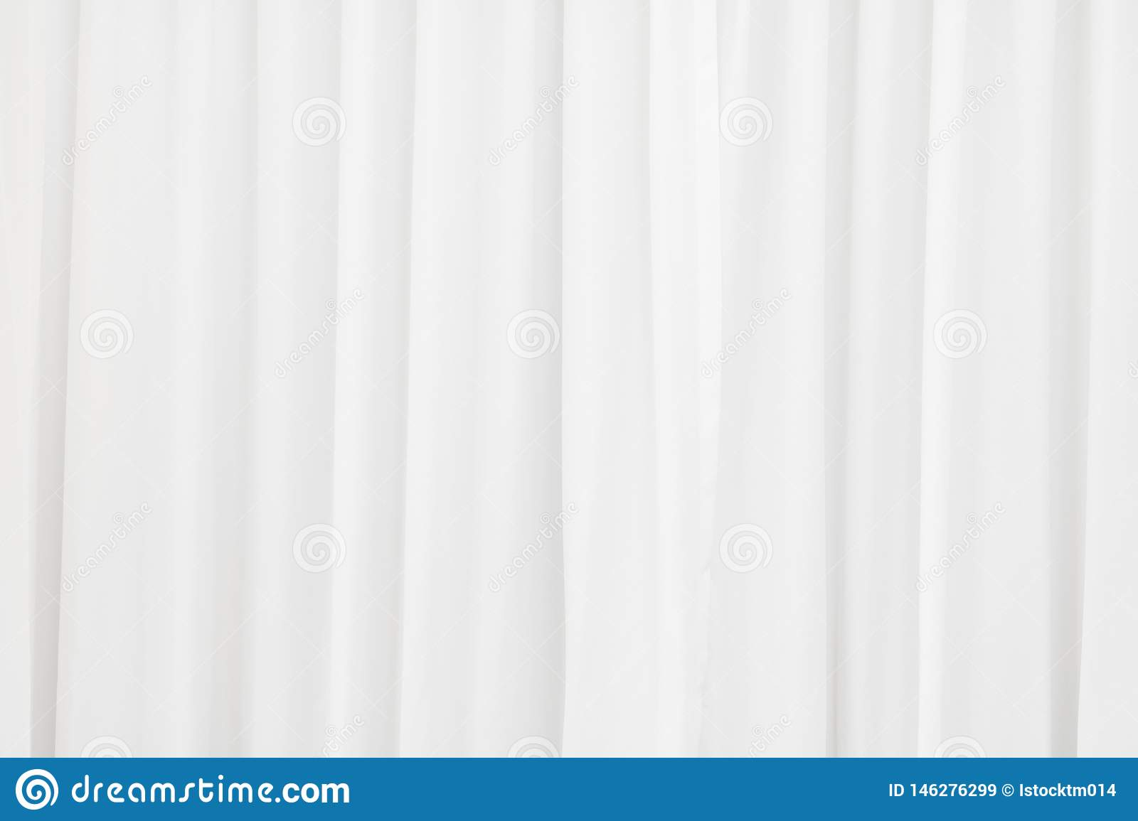 White Fabric Texture Background. Crumpled Of Curtains ...