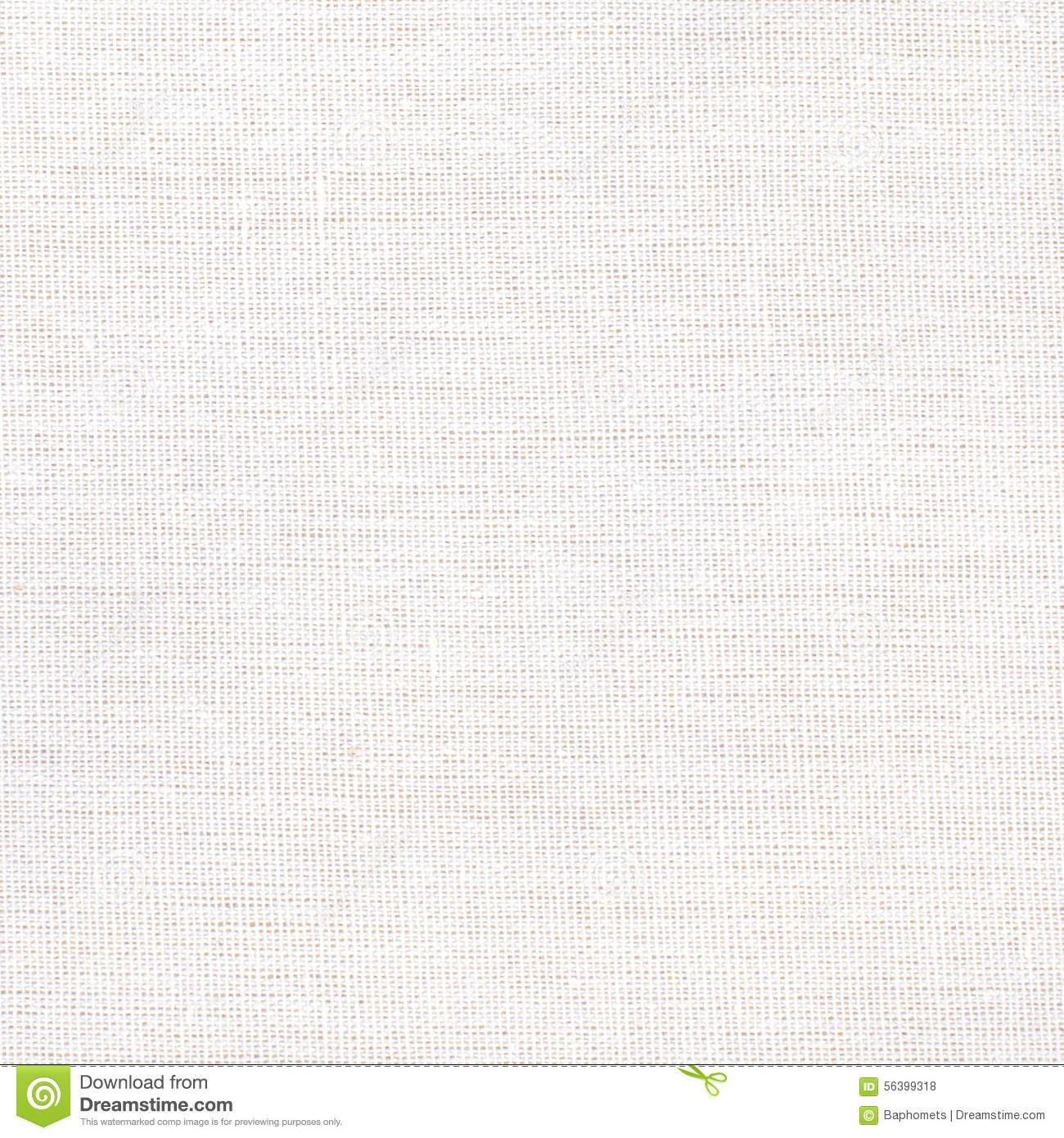 White Fabric Texture Or Background White Canvas Stock
