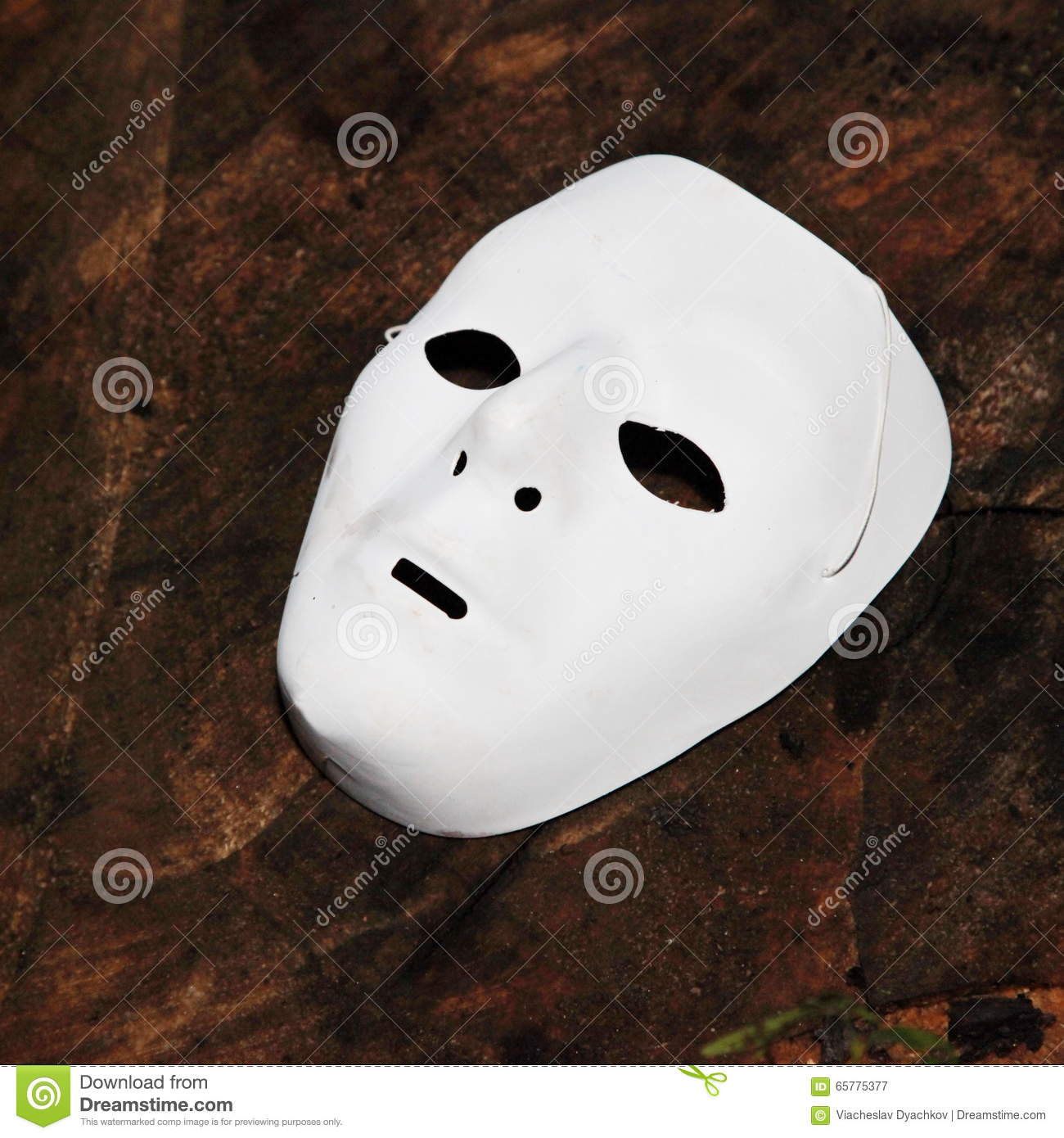 White Face Mask For Halloween Stock Image - Image of alter, face ...