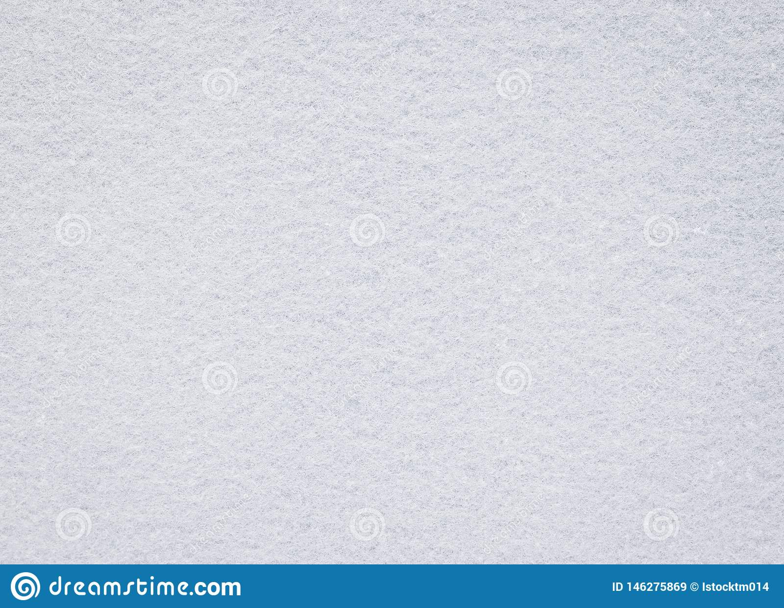 White felt texture. Blank fabric background. Detail of carpet material