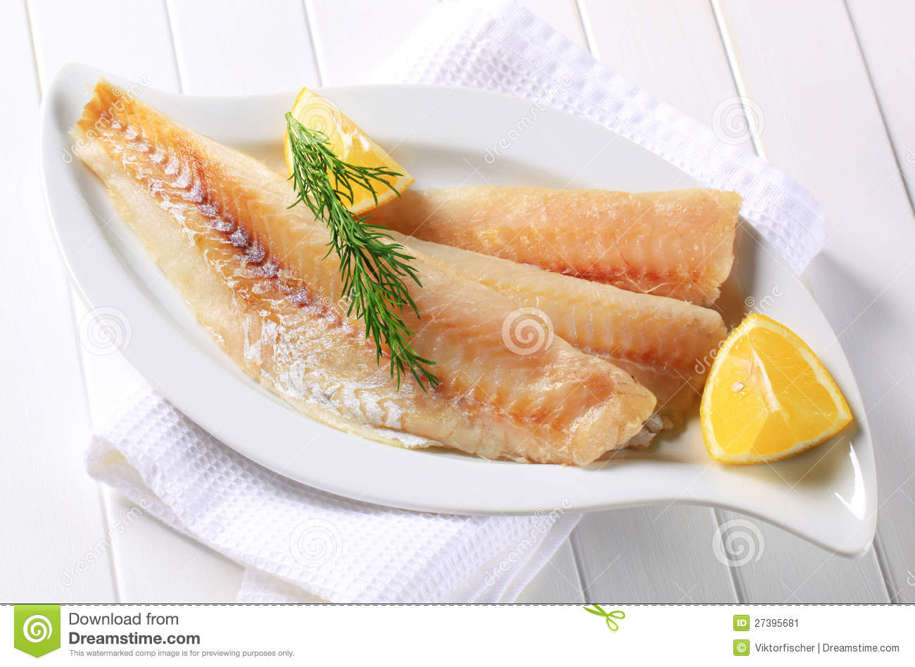 White Fish Fillets Stock Image Image Of Whiting