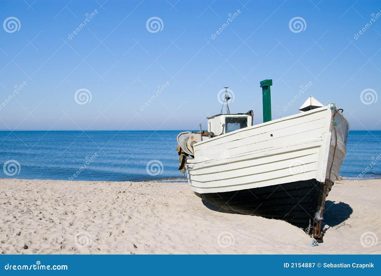 Beautiful Sea And White Sand Beach Stock Photography ...
