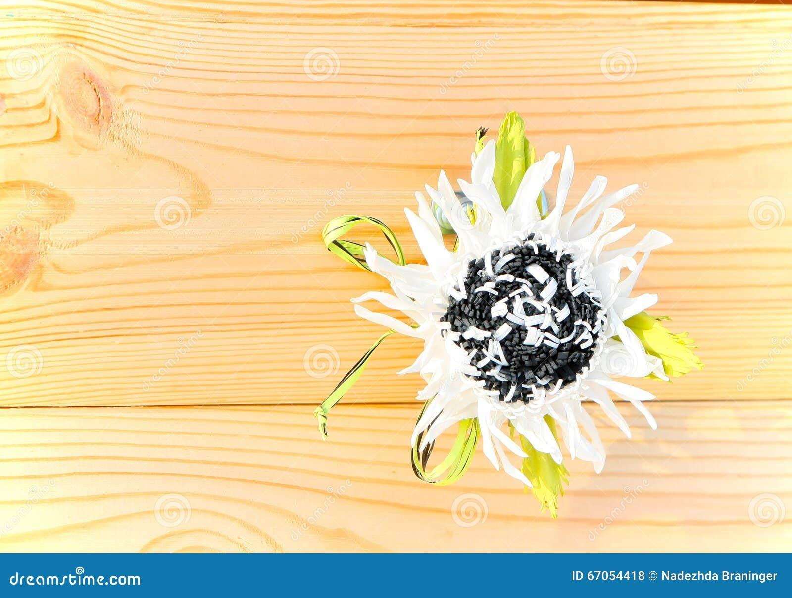 White Flower Of Foamirana Stock Photo Image Of Foamiran 67054418