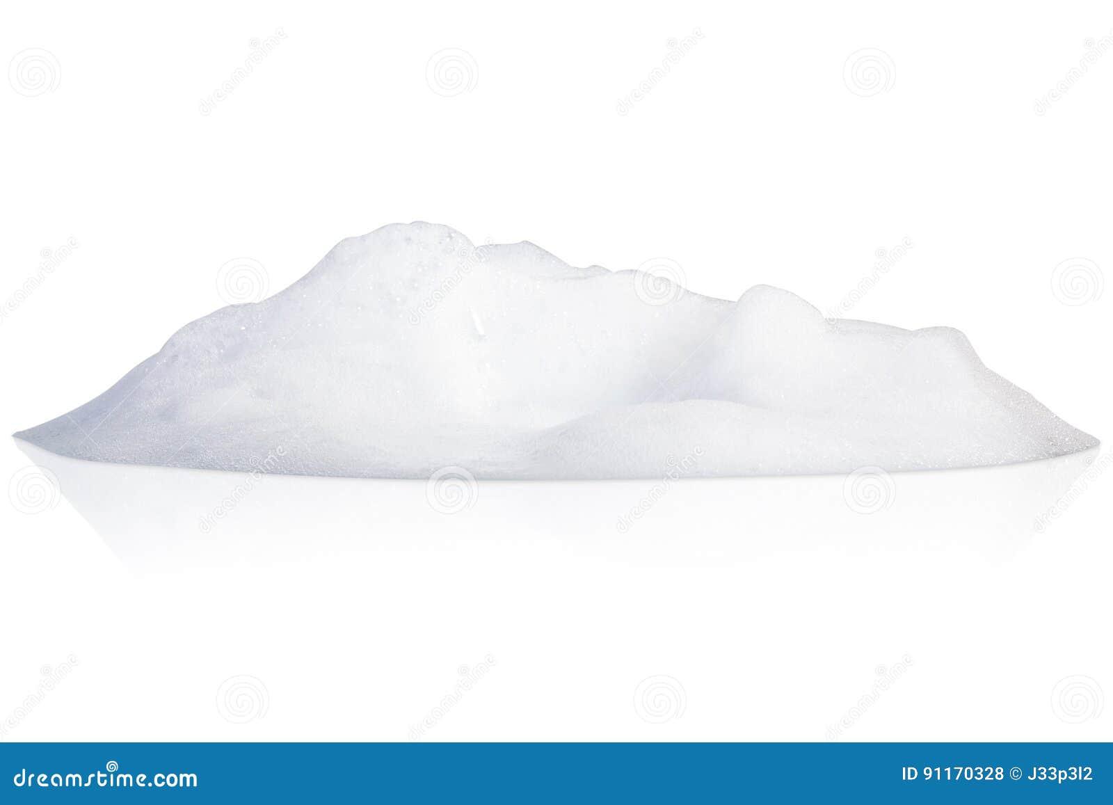 White foam bubbles texture