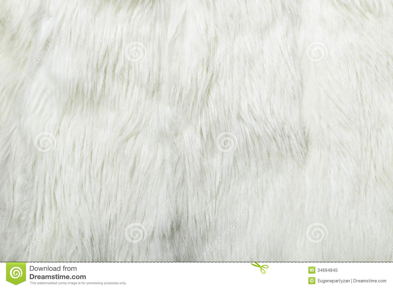 White Fur Background Close Up Texture Royalty Free Stock