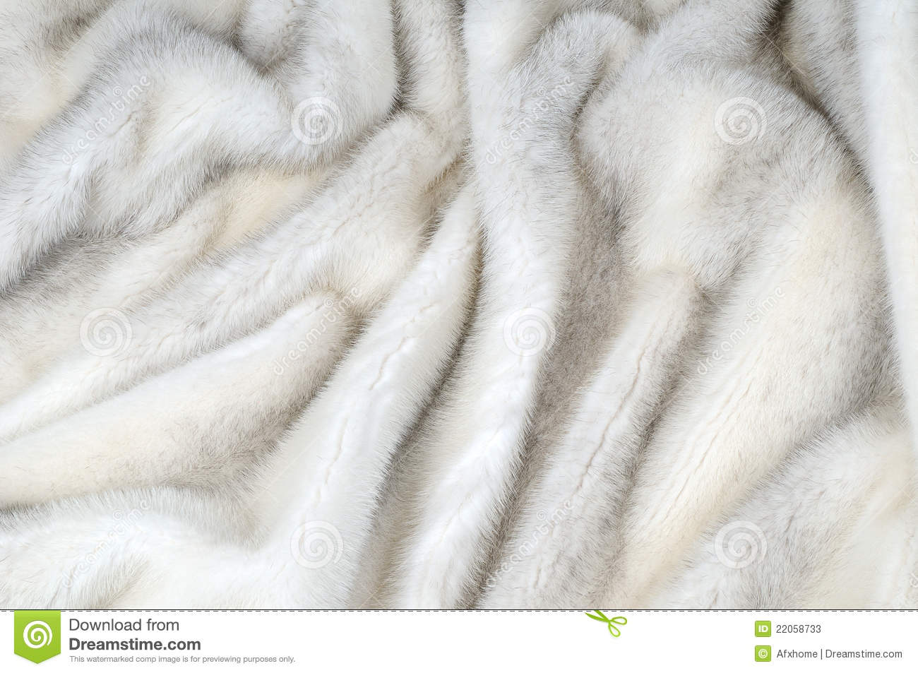 White Fur Mink Background Stock Photos - Image: 22058733