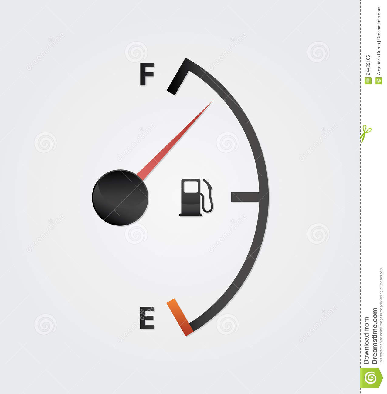 how to read your gas meter in your car