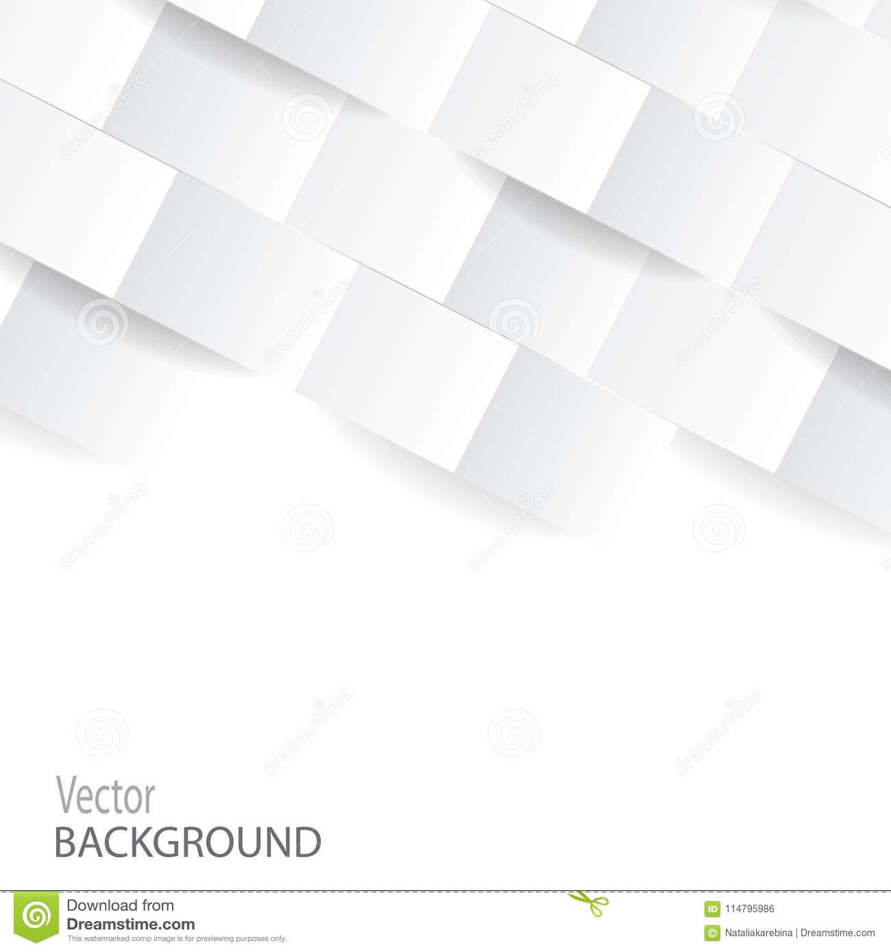 white geometric modern background perspective texture for cover