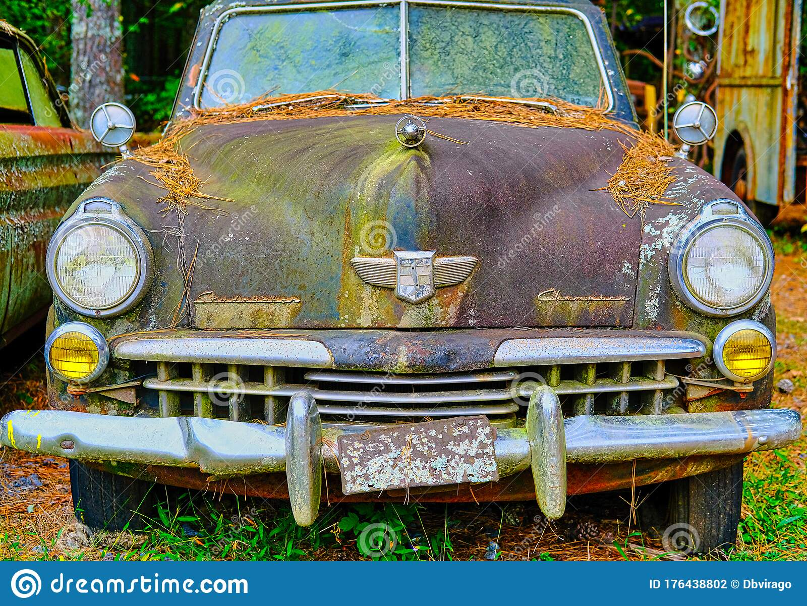 Old Studebaker Champion Editorial Photography Image Of Junkyard 176438802