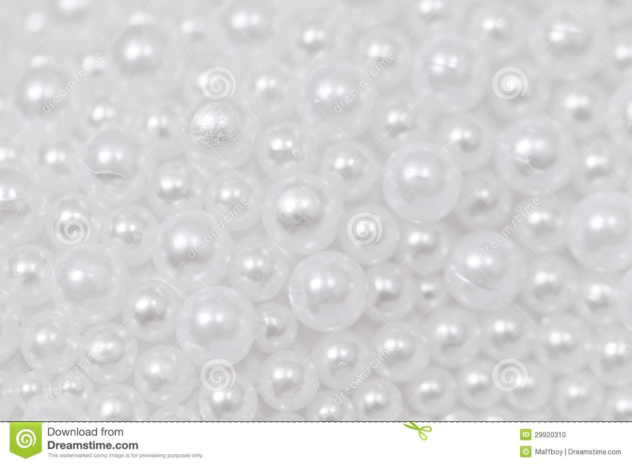 White beads stock photo. Image of colorful, beautiful ...