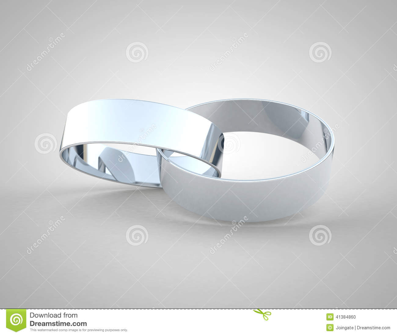 Gold Wedding Rings Together Royalty Free Stock Photography