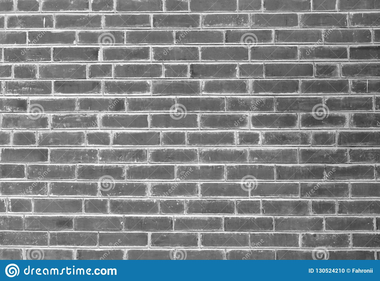 White And Grey Brick Wall Texture Background With Space For