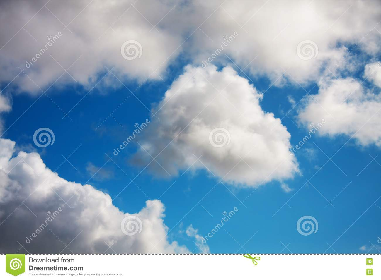 Free Stock Image White And Grey Clouds Picture Image 10225136
