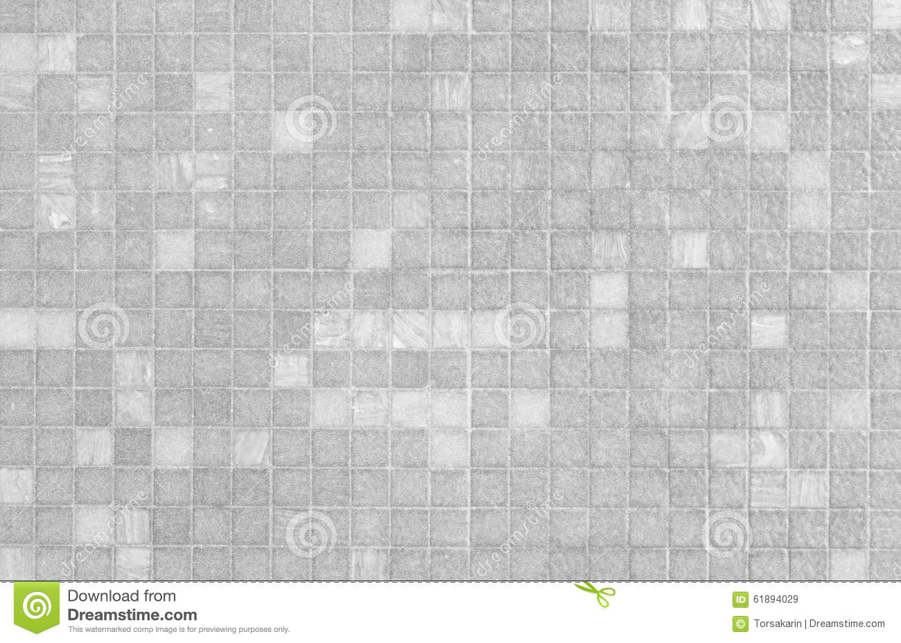 White and grey mosaic tile wall pattern stock photo image 61894029 - Grijs gekleurde ...