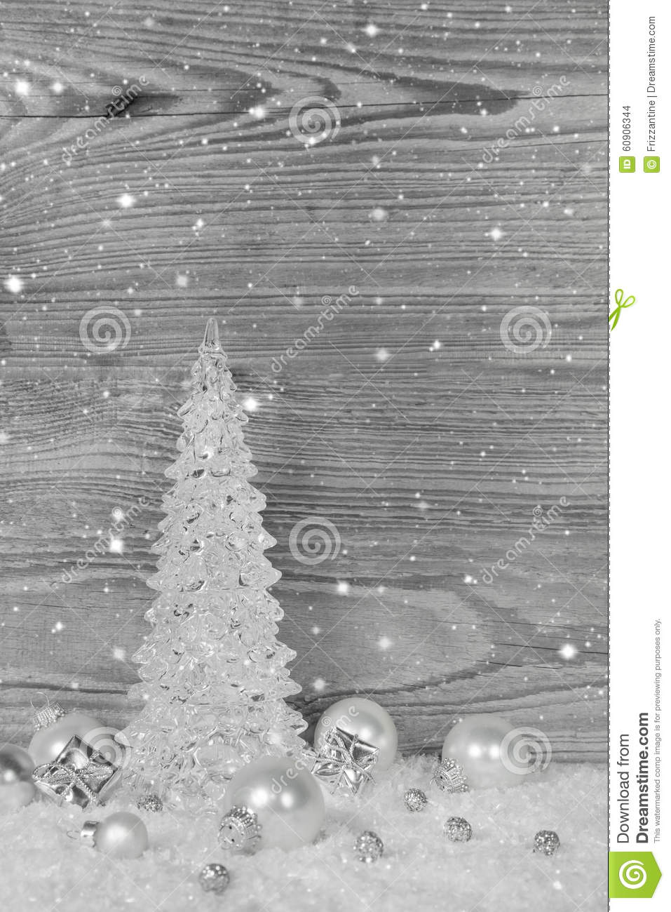 download white grey and silver christmas decoration on wooden background stock photo image of