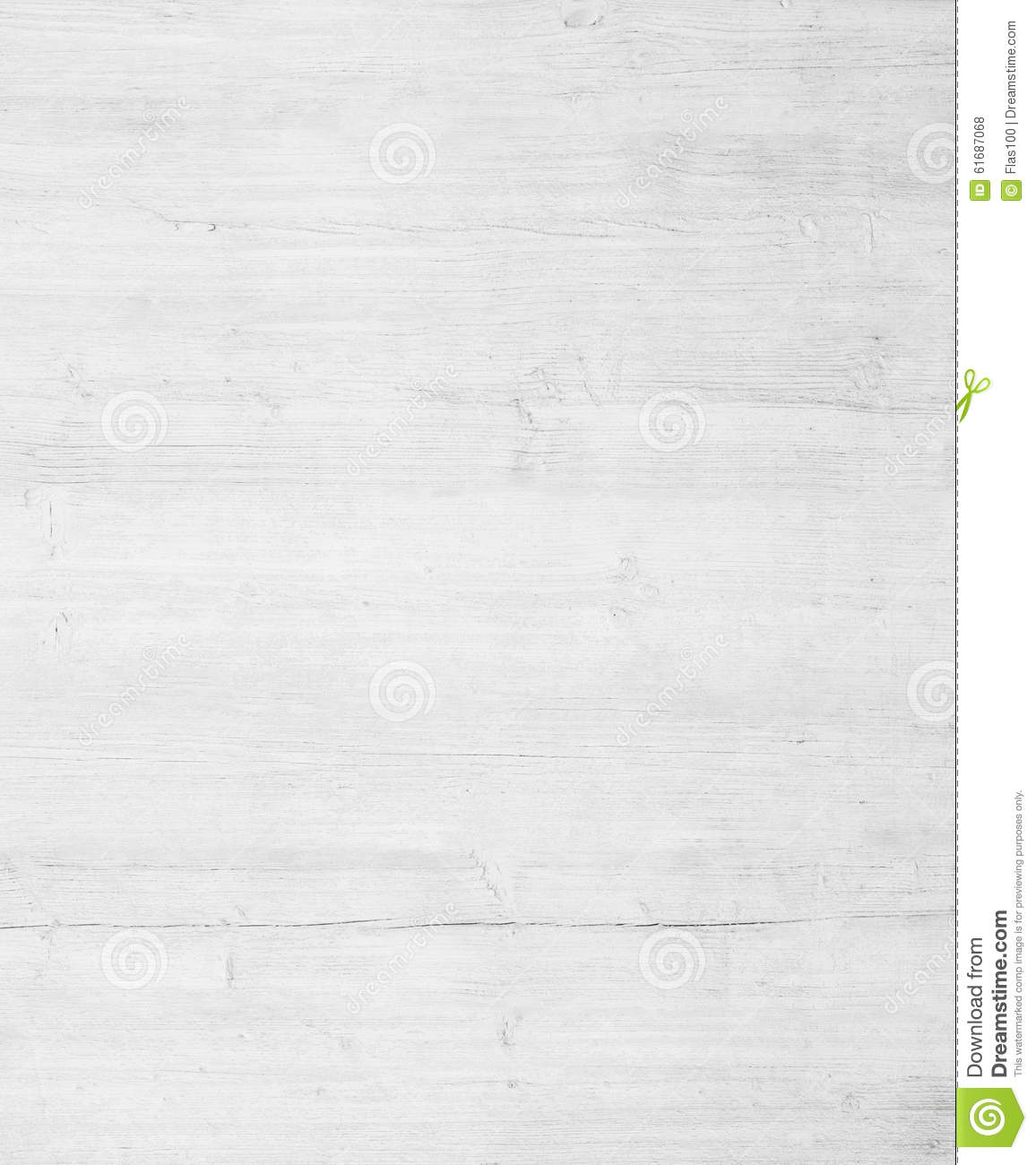 White Grey Wooden Wall Texture Old Painted Pine Stock