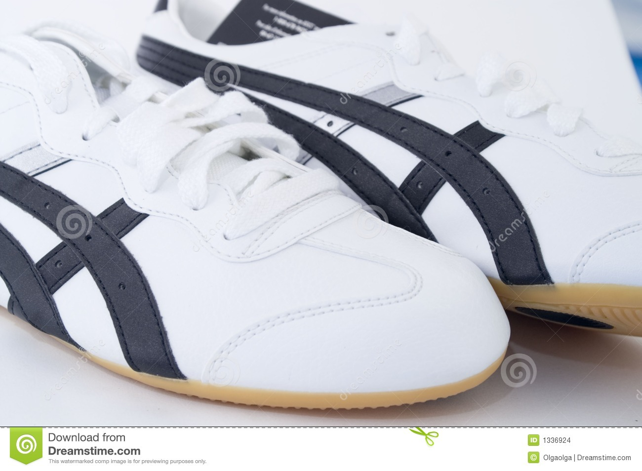 White Gym Shoes Editorial Stock Image Image Of Building