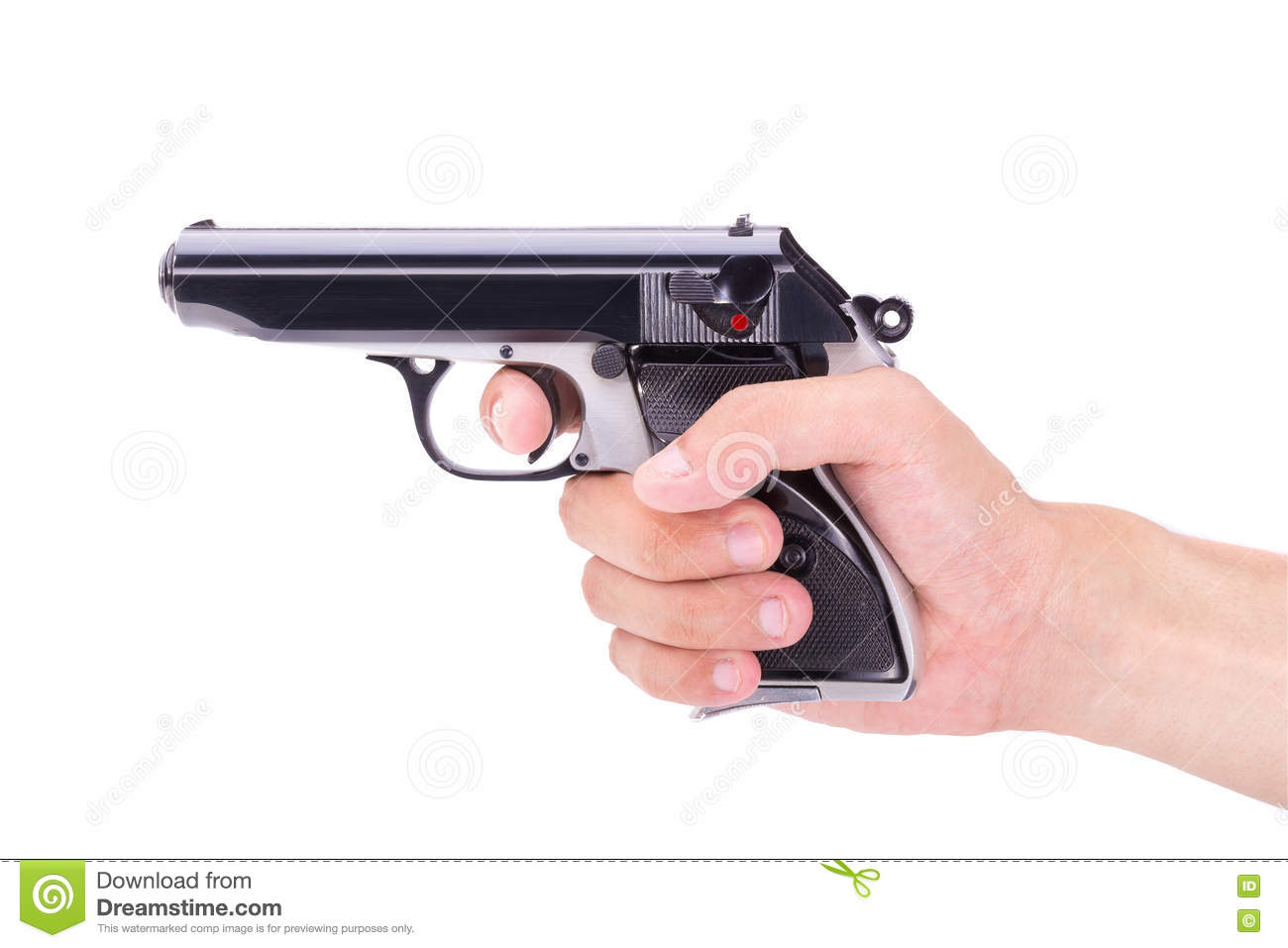 gun white background - photo #28