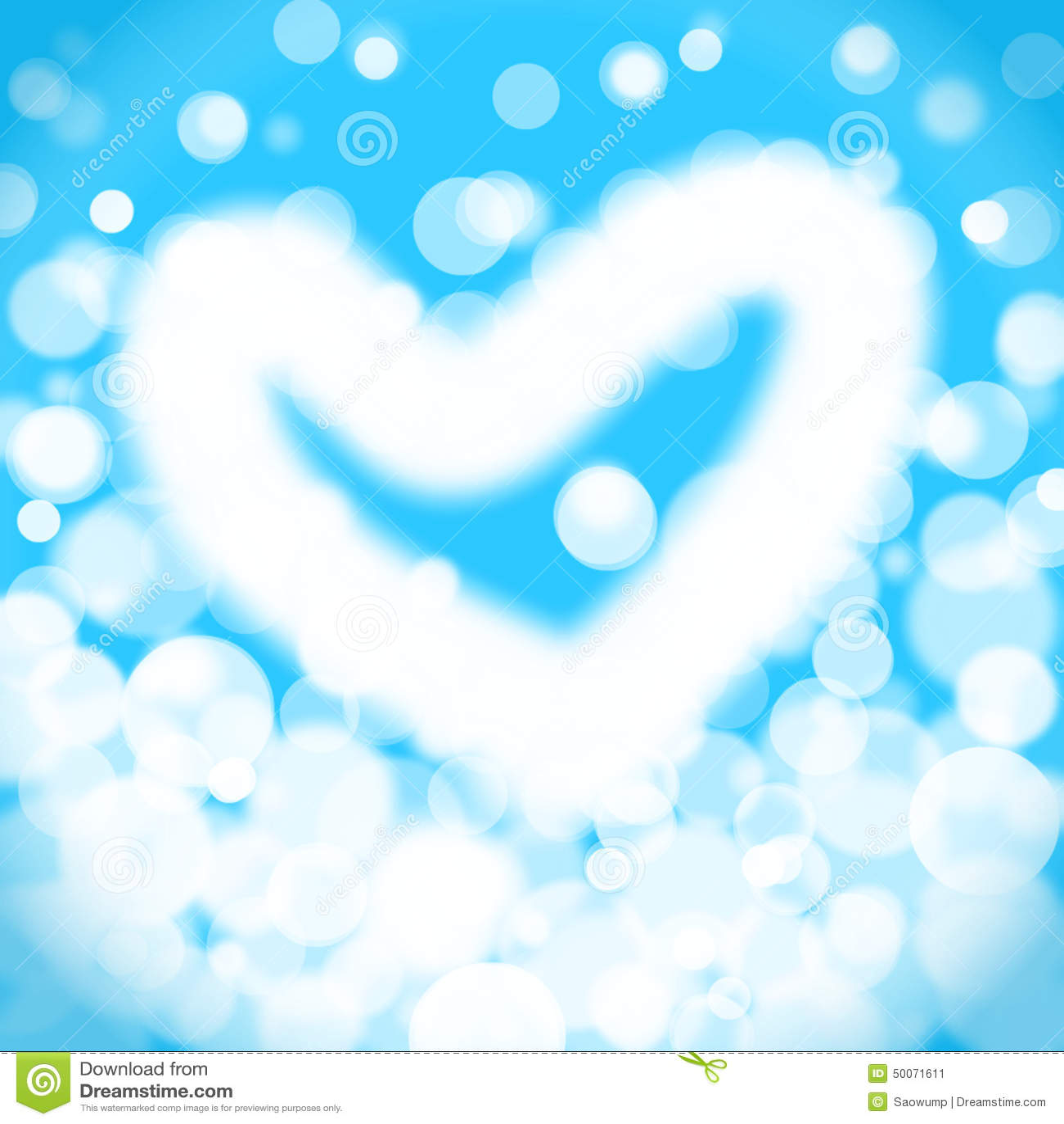 light blue heart background - photo #24