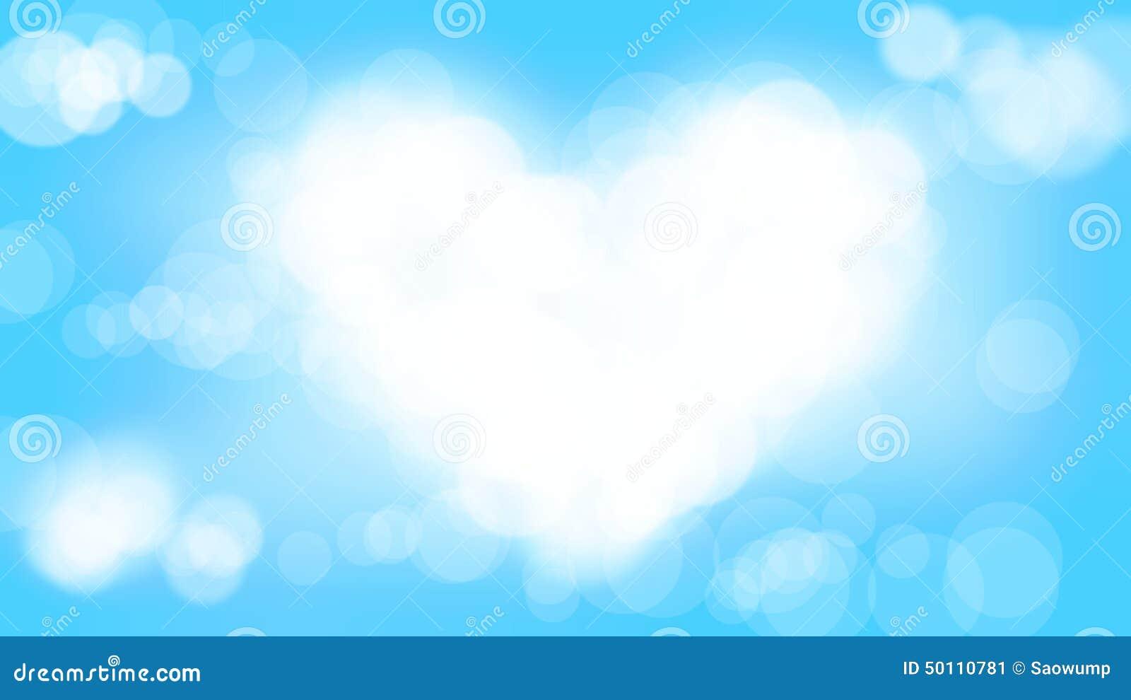 light blue heart background - photo #7