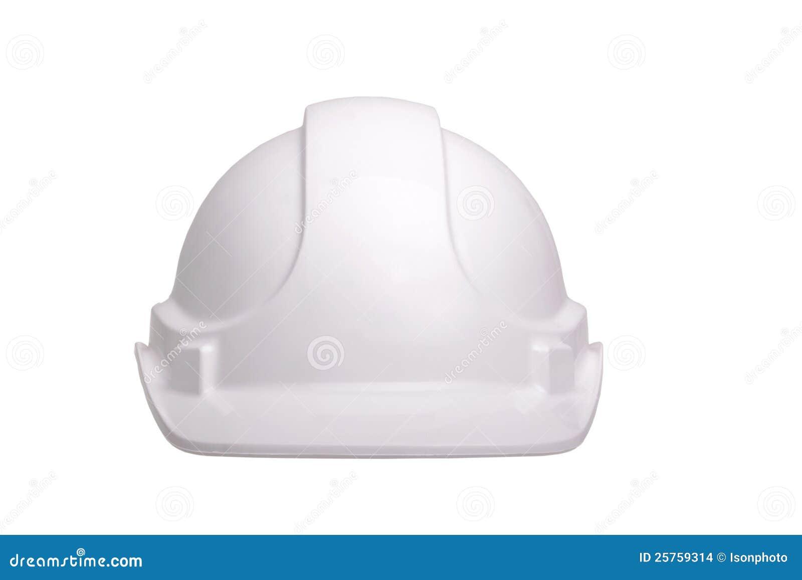 White Helmet Stock Photo Image Of Class Construction